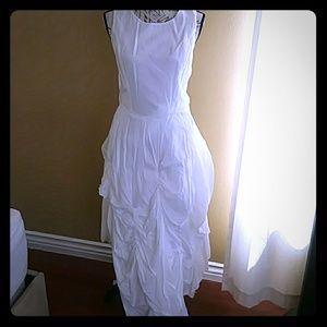 Ivan Grundahl asymmetrical linen dress